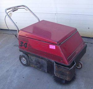 #043 Factory Cat Model 34 Walk Behind Sweeper - Used