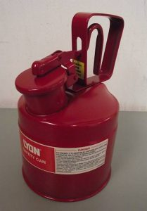 Lyon NF5482 2-Quart Type 1 Safety Can - New Surplus