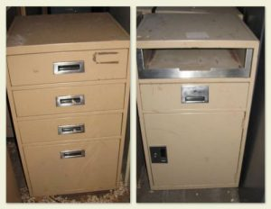 Tan Colored Bank Files - Used