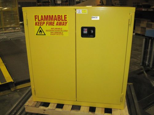 30 GAL Flammable Cabinet JAMCO #BM30 - NEW