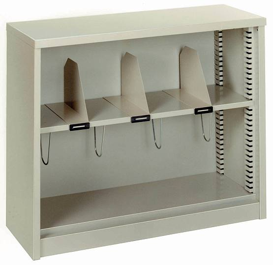 Lyon DD902421 Counter High Bookcase - New Surplus