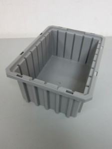 Akro-Grid 33-105 Stackable Containers - Used