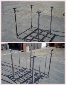 Light Duty Stack Racks - Used