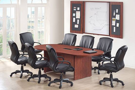 Harmony Racetrack Conference Tables New Welter Storage - Conference table with storage