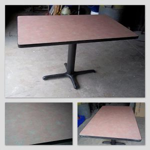 "30""X48"" Laminated Top Tables - Used"