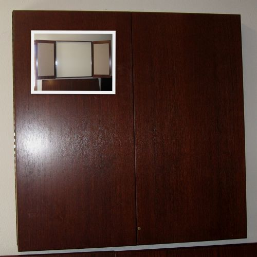 Wood Veneer & Laminate Media Boards - Used