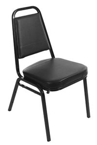 Square Back Stack Chairs - New