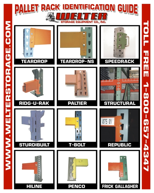 Pallet Rack Styles & Illustrations