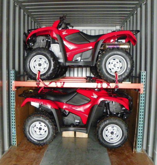ATV Rack for Container Shipment - Dubuque IA & ATV Rack for Container Shipment - Dubuque IA - Welter Storage