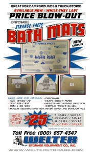 Disposable Bath Mats - New Surplus