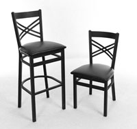 Cross Back DINING CHAIRS - New