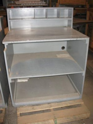 Wooden Foreman's Desk - Used