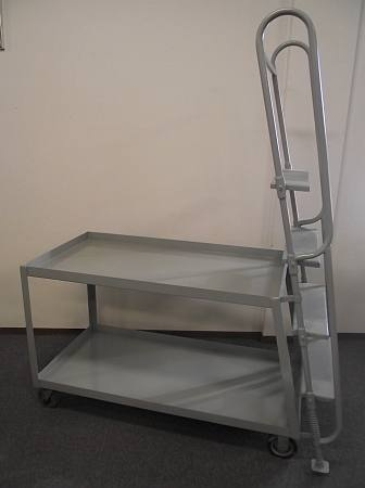 "Stock Picking Cart 47""x27""x52"" Heavy Duty - Repainted Used"