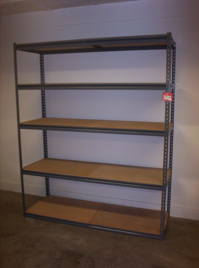 "18""x96"" Maximus Rivet-Style Shelving - New"