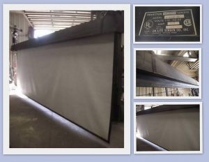 DA-LITE 20'x15' Powered Projection / Movie Screen - Used