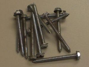 Slotted Hex Head Sheet Metal Screws