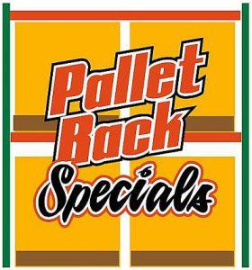 Pallet Rack Specials
