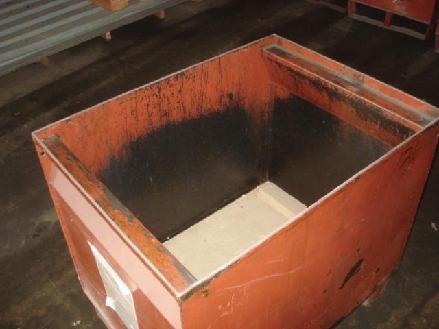 "Medium Duty Red/Orange 23-1/2""x31""x29"" Steel Tubs - Used - Welter ..."
