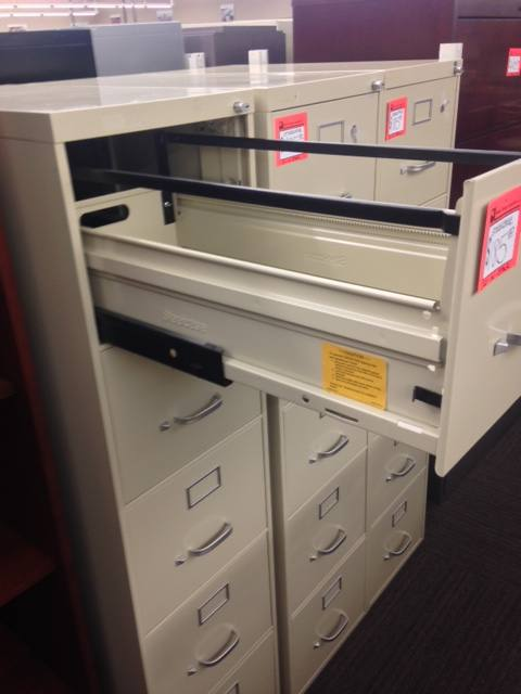 5 Drawer Steelcase Letter Size Putty File Cabinets U2013 Used