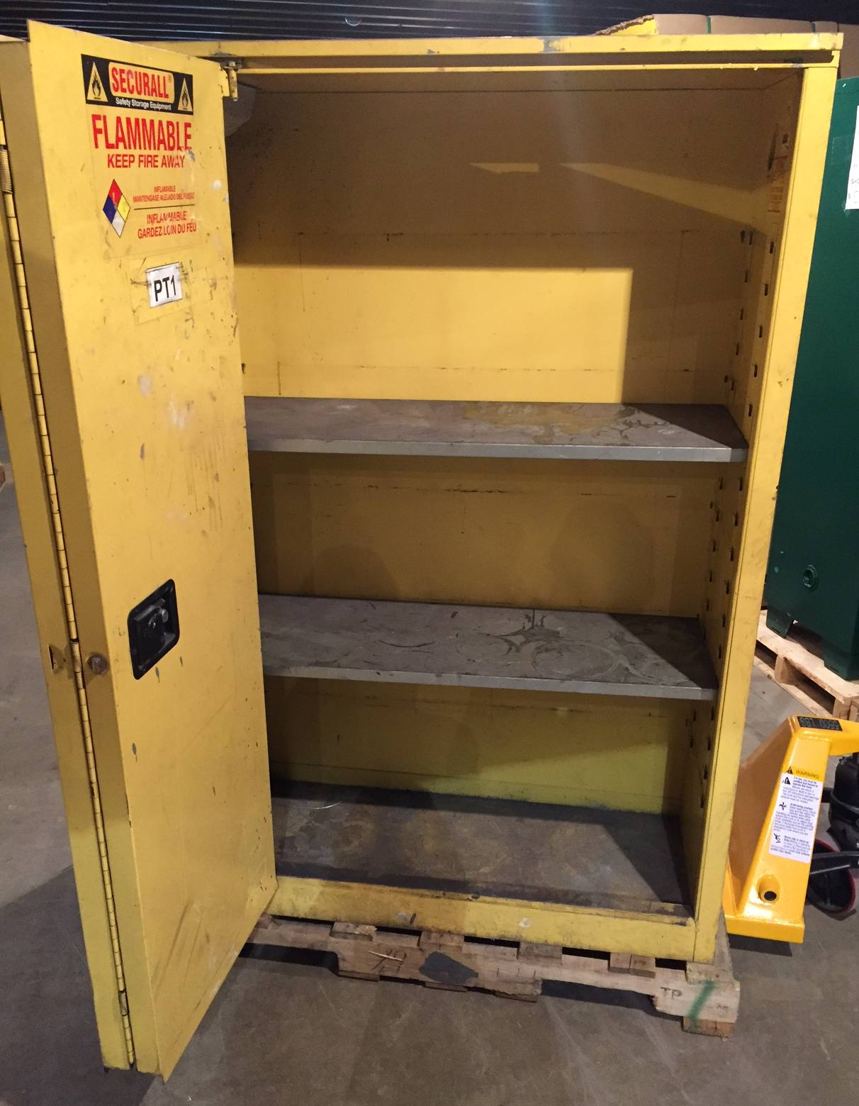 Sale Pending ** USED 45 Gallon Standard Flammable Cabinet - Used ...