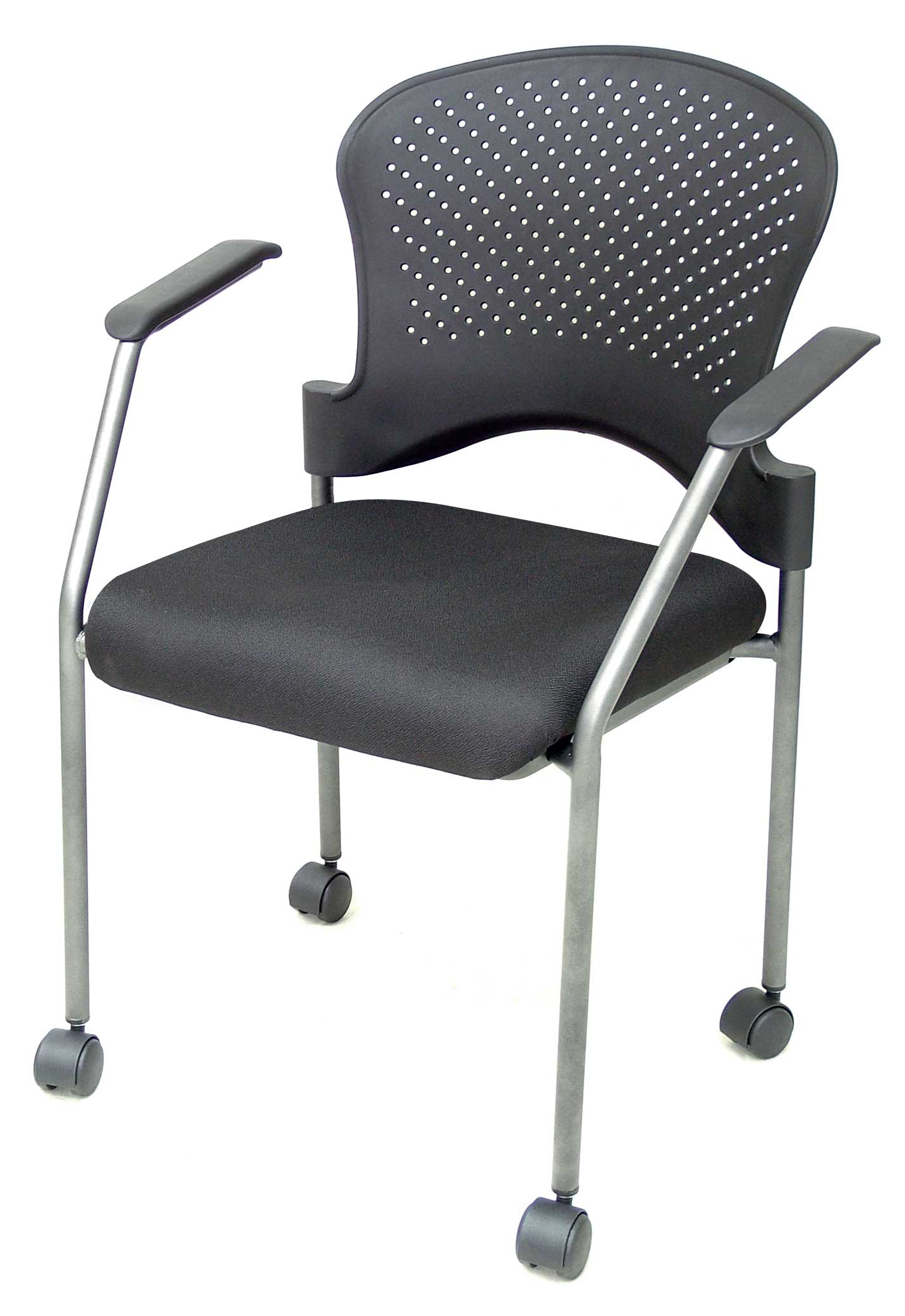 Capri stackable guest chair with arms news tg