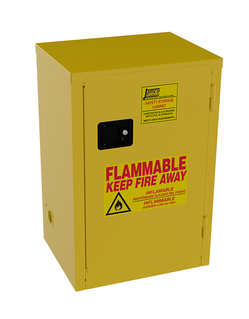 #P27 U2013 BA12 Flammable Storage Cabinet U2013 New Surplus Su0026D
