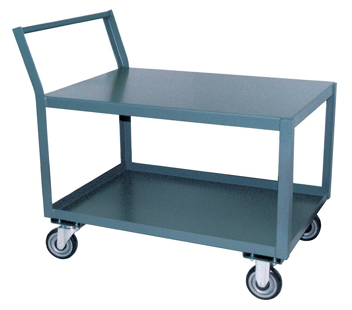 "Jamco SL124 18""x 30"" 2-Shelf Low Deck Cart / Welter P/N 1144-1148 ..."