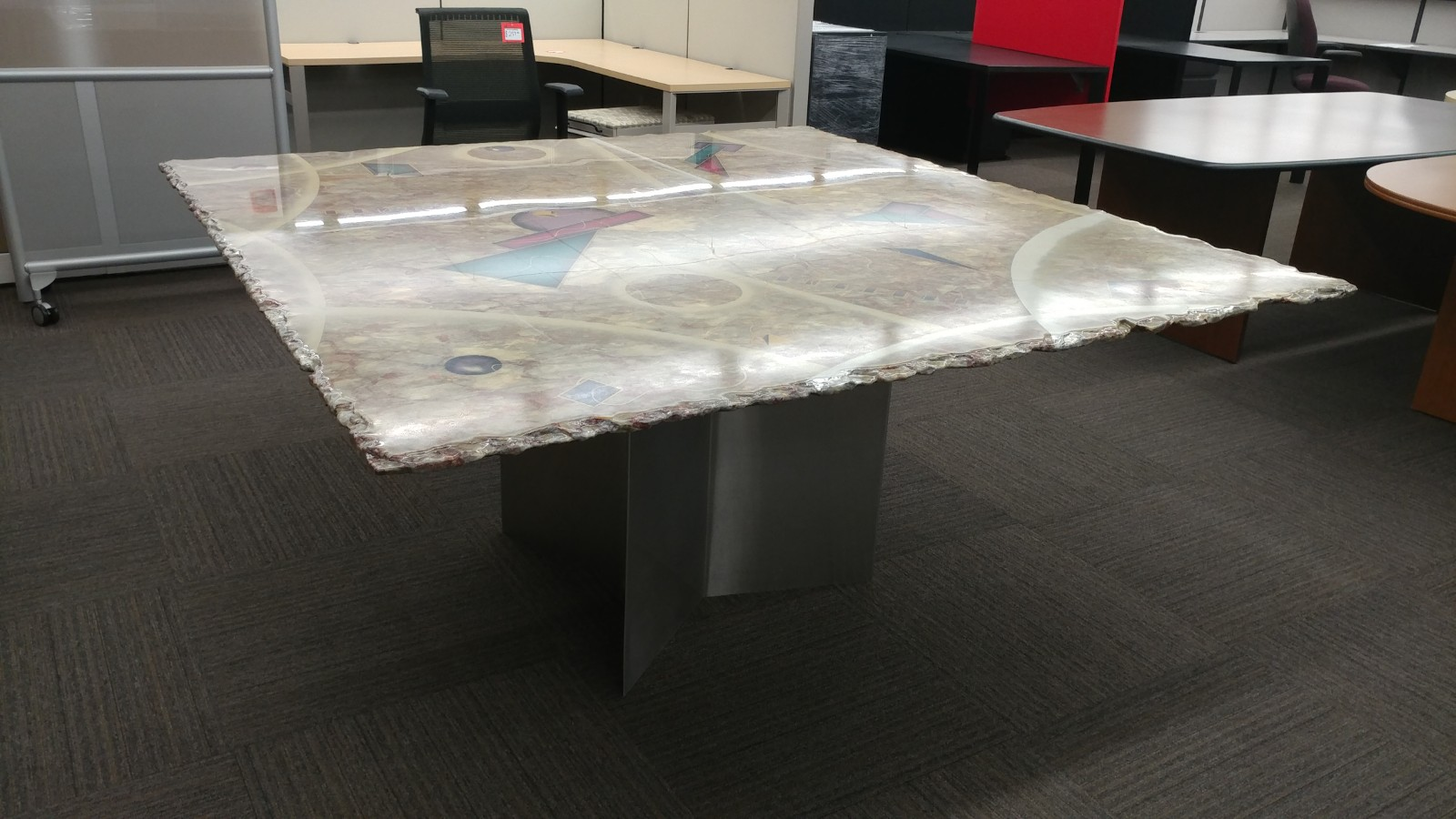 Used Granite Conference Table Welter Storage - Granite conference table