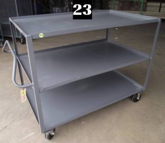 "Heavy Duty Welded Cart #23 (60""x36""x47"") - New Surplus"