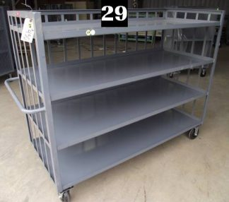 "Heavy Duty Welded Cart #29 (72""x30""x57"") - New Surplus"