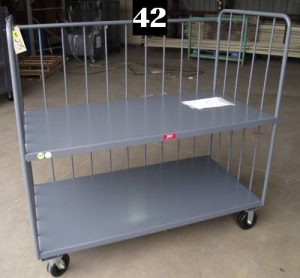 "Heavy Duty Welded Cart #42 (60""x30""x60"") - New Surplus"