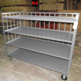 "Heavy Duty Welded Cart #64 (72""x31""x58"") - New Surplus"