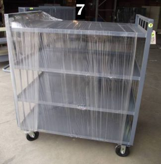 "Heavy Duty Welded Cart #7 (49""x31""x58"") - New Surplus"