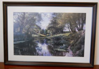 Art Print 19 - Creek Side Reflection - Used