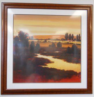 Art Print 45 - Prairie Dusk - Used
