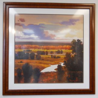 Art Print 46 - Rolling Hills Sunset - Used