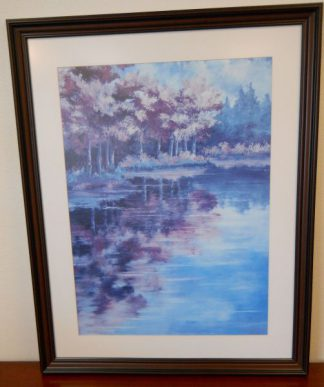 "Art Print 9 - September Reflections - Courthouts ""Peggy"" - Used"