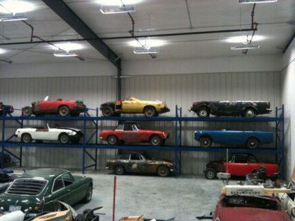 "British Cars ""On The Rack"" - Ames, IA"