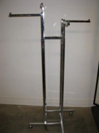 4-Way Clothes Racks on Wheels - Used