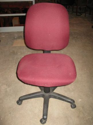 Burgandy Chairs with Back Tilt - Used
