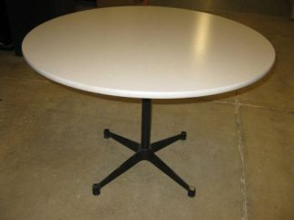 "42"" Tan Round Table - Used"