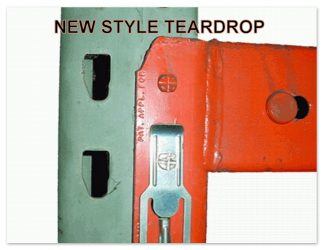 Teardrop (New Style) Pallet Rack