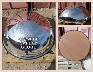 Full Dome Safety Mirror / Asst Sizes - Used