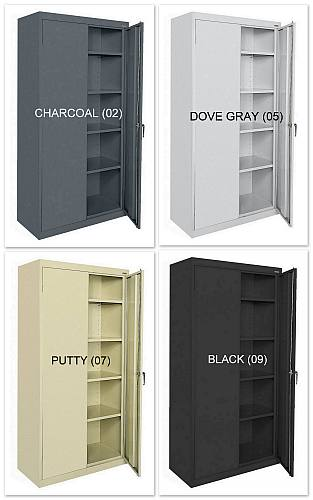"36""x18""x78"" Sandusky 2-Door Cabinet - New"