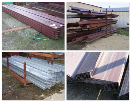 Large Selection of Z Purlins & C Channel - SECONDS - Welter