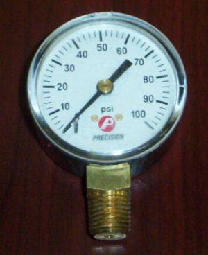 100 lb Air Pressure Gauge
