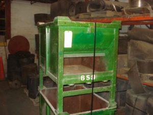 "Green Steel Tub 28""x38""x30"" - Used"