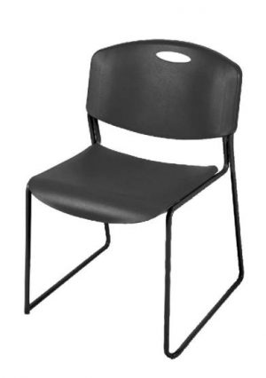 Harmony Black Stack Chair FBM-28 - New