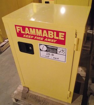 #25 BP18 / 18 Gallon Standard Flammable Cabinet - New Surplus