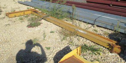 1/2 Ton Wall Mount Jib Crane - Used